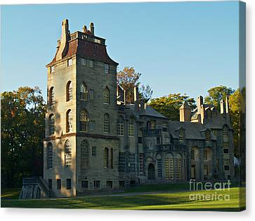 Fonthill Castle In September - Doylestown Canvas Print