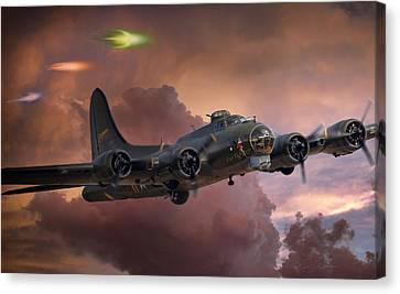Foo Fighter Canvas Print