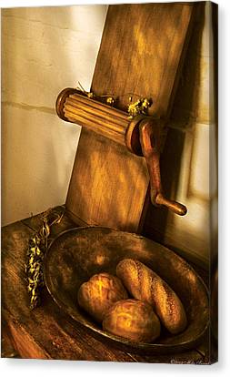 Food -  Bread  Canvas Print by Mike Savad
