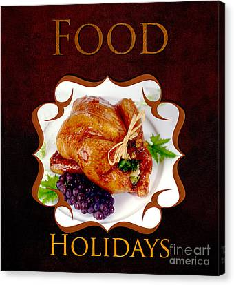 Food Holiday Gallery Canvas Print