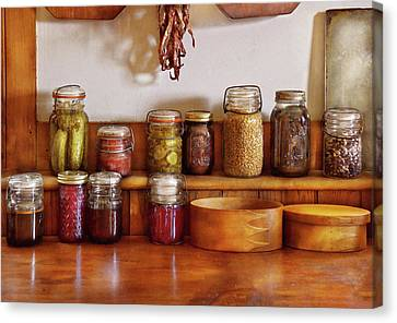 Food - I Love Preserving Things Canvas Print by Mike Savad