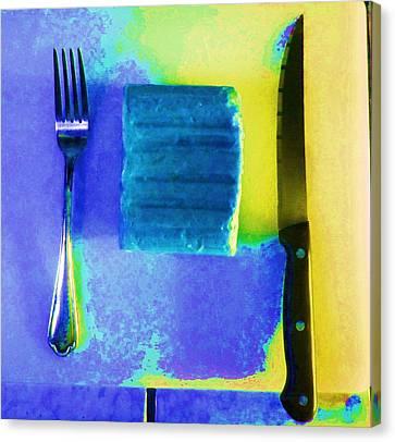 Food Item Canvas Print by Dan Twyman