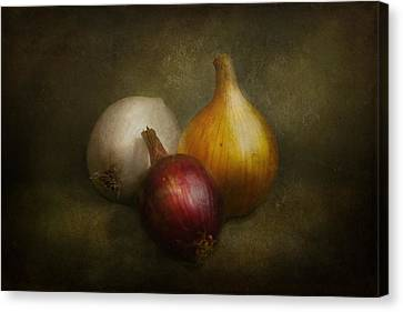 Food - Onions - Onions  Canvas Print by Mike Savad