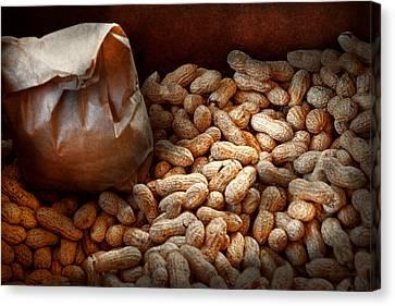 Food - Peanuts  Canvas Print by Mike Savad