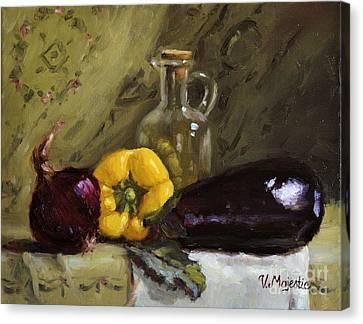 Food Still Life Canvas Print