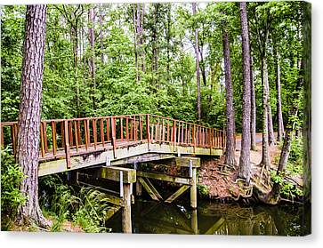 Foot Bridge Canvas Print