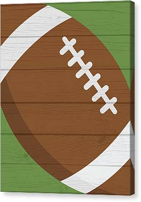 Football 2 Canvas Print by Tamara Robinson