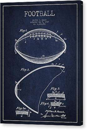 Football Patent Drawing From 1939 Canvas Print