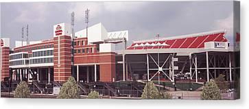 Football Stadium, Papa Johns Cardinal Canvas Print