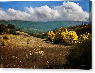 Foothill Autumn In Southern Oregon Canvas Print by Mick Anderson