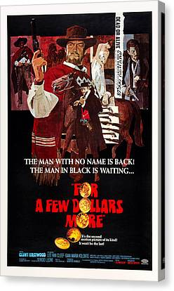 For A Few Dollars More, Aka Per Qualche Canvas Print by Everett