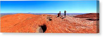 For Miles.....central Australia Canvas Print by Bill  Robinson