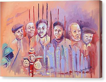 Canvas Print - For Our Tomorrow by Oyoroko Ken ochuko