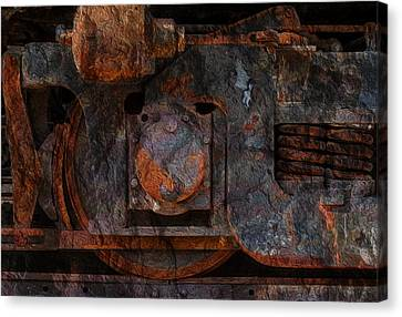 For The Love Of Rust 2 Canvas Print by Jack Zulli