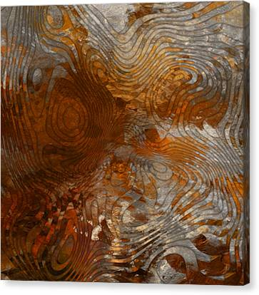 Titanium White Canvas Print - For The Love Of Rust by Jack Zulli