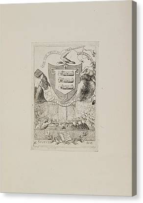 For The Trial Of Warren Hastings Canvas Print