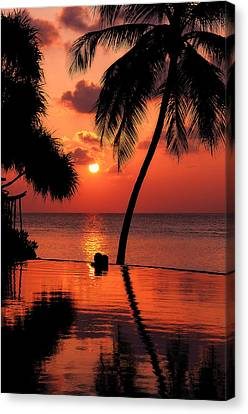 For You. Dream Coming True I. Maldives Canvas Print by Jenny Rainbow