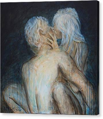Forbidden Love - Erotica Canvas Print