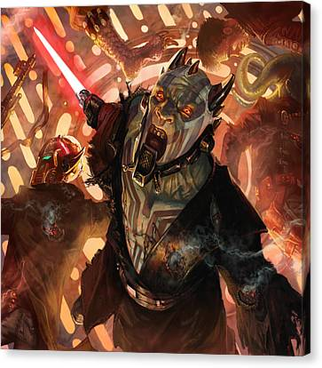 Force Scream Canvas Print by Ryan Barger