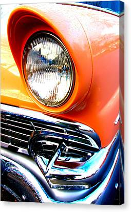 Ford 3 Canvas Print by Amanda Stadther