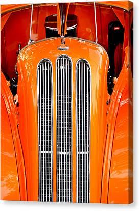Custom Ford Canvas Print - Ford Anglia Classic by Carolyn Marshall
