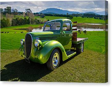 Ford Barrel Nose Pickup Canvas Print