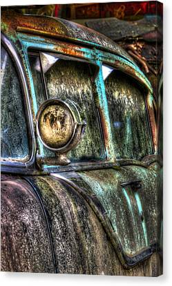 Car Canvas Print - Ford Country Squire  by Susan Candelario
