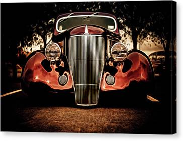 Ford Coupe Hotrod Canvas Print by motography aka Phil Clark