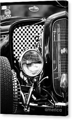 Ford Dragster Monochrome Canvas Print by Tim Gainey