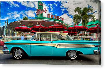 Ford Edsel Classic Canvas Print by Bill Tiepelman