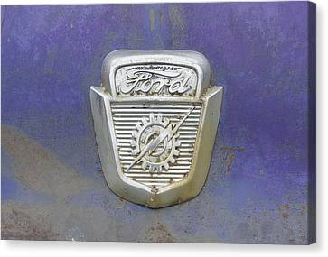 Ford Emblem Canvas Print