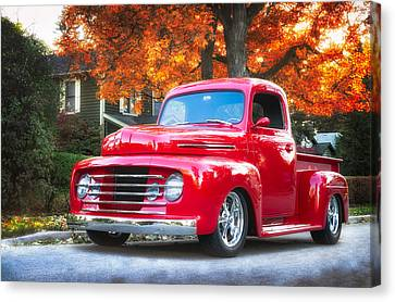 Ford F-1  Canvas Print by Darek Szupina Photographer