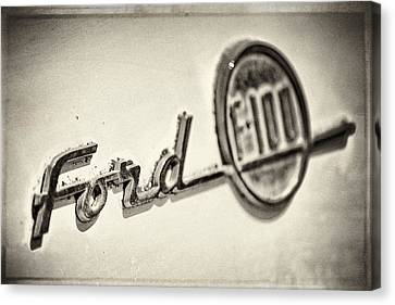 Ford F-100 Canvas Print by Caitlyn  Grasso