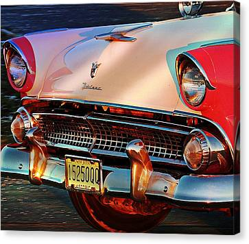 Ford Fairlane Canvas Print by Allen Beilschmidt