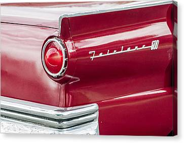 Canvas Print featuring the photograph Ford Fairlane by Dawn Romine
