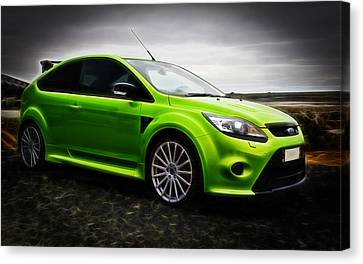 Ford Focus Rs Canvas Print