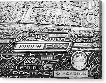 Ford Fox Canvas Print