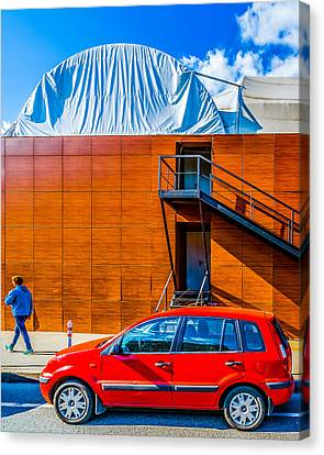 Ford Fusion Canvas Print by Alexander Senin