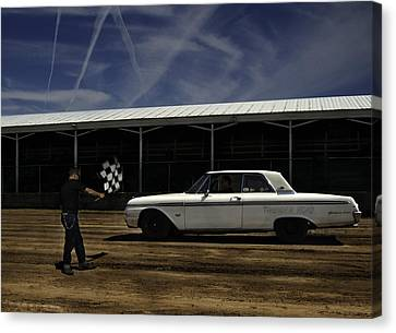 Ford Galaxie 500 6 Canvas Print by Thomas Young