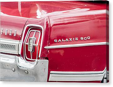 Canvas Print featuring the photograph Ford Galaxie  by Dawn Romine