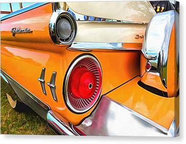 Ford Galaxie Skyliner 9 Canvas Print by Mick Flynn