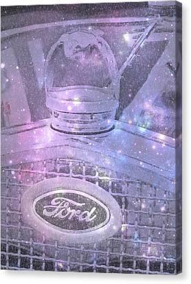 Ford Galaxy Canvas Print by Trish Tritz
