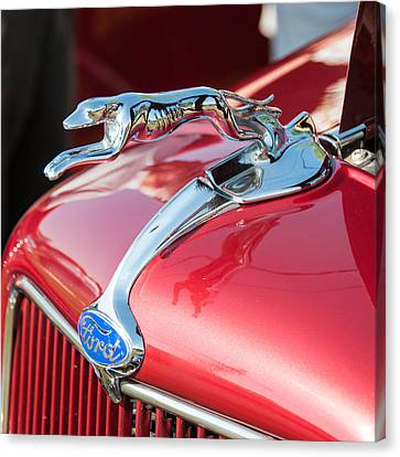 Ford Hood Canvas Print by Guy Whiteley