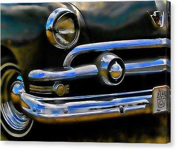 Canvas Print featuring the photograph Ford Hot Rod by Ron Roberts