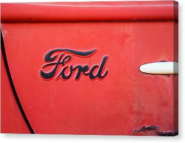 Ford Made Canvas Print by Dale Kincaid