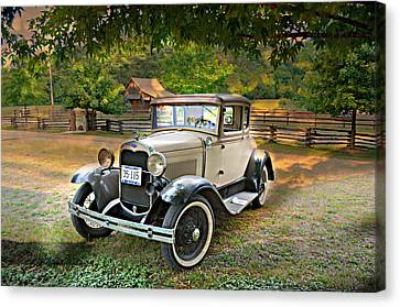 Ford Model A 2 Canvas Print by Marty Koch