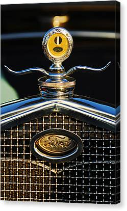 Ford Motometer Canvas Print by Jill Reger