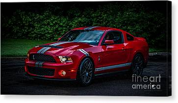 Ford Mustang Gt 500 Cobra Canvas Print