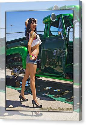 Ford Pick Up_a Canvas Print