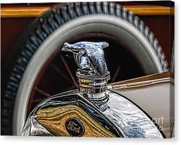 Ford Quail Radiator Cap Canvas Print